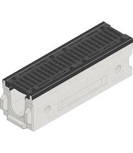 Hauraton Drainage channel Faserfix TI 150 type 200, l = 1m, class D, 400KN