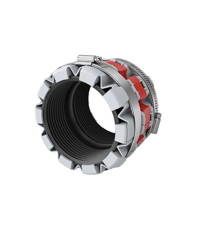 Funke Huis Sanitair Koppeling type FHS50. Koppelbereik diameter 50-80mm