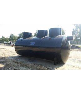 Diederen Coalescentieafscheider met slibvanger DAH 040. Capaciteit 40 l/s, Slibvang 4.710l, klasse D, 400KN