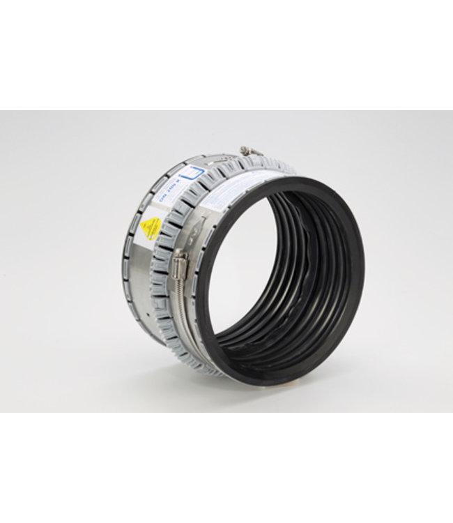 Funke NBR oliebestendige buiskoppeling VPC 100. Variabel 102-133mm