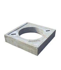 Diederen Grundplatte 900x900x120mm. Mannloch 335mm. Komo-Marke