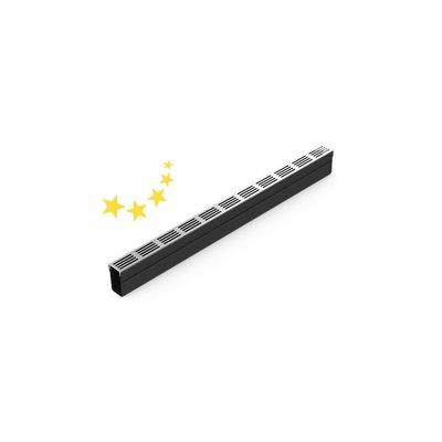 Plastic grid channel DLT Starline with aluminum design grid