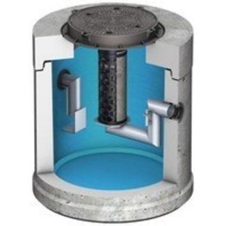 ACO Koaleszenzabscheider mit Schlammfang Oleopator 1.5. Kapazität 1,5 l / s, Schlammfang 300 l