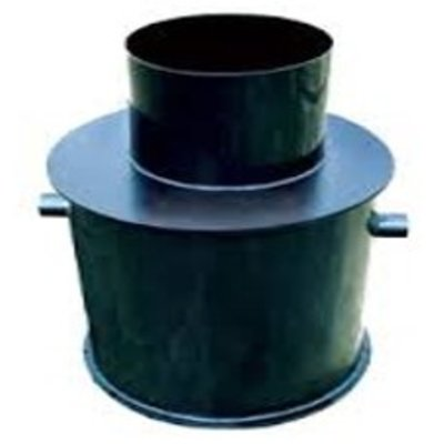 Plastic HDPE grease separator with sludge trap, sand trap and CE mark