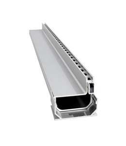 Diederen Aluminium sleufgoot SideDrain 40, lxbxh=500x110x83mm