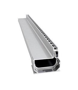 Diederen Aluminium sleufgoot SideDrain 40, lxbxh=2500x110x83mm