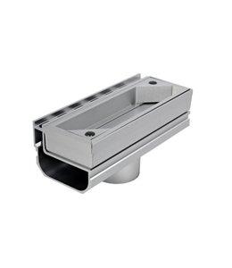 Diederen Aluminium-Inspektionspaneel SideDrain 40 Standard. LxBxH = 250x110x83mm