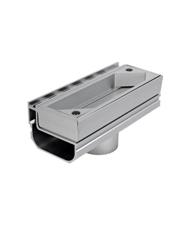 Diederen Aluminium inspectieluik SideDrain 40 standaard. lxbxh=250x110x83mm