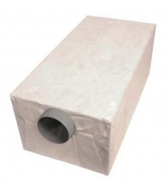 Pipelife Sparc infiltratiebox, 216l, KOMO, voorzien van geotextiel. lxbxh=1200x600x300mm