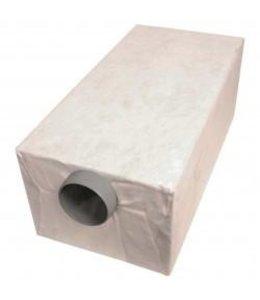 Pipelife Sparc infiltratiebox, 432l, KOMO, voorzien van geotextiel. lxbxh=1200x600x600mm