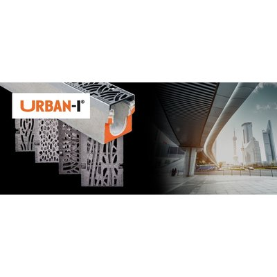 Self-supporting drain gutters type I, Corten steel or Reinforced concrete