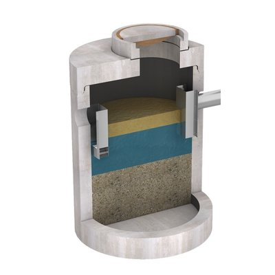 Concrete grease traps with CE approval