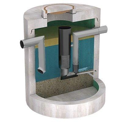 Diederen oil separator with sludge trap and CE mark