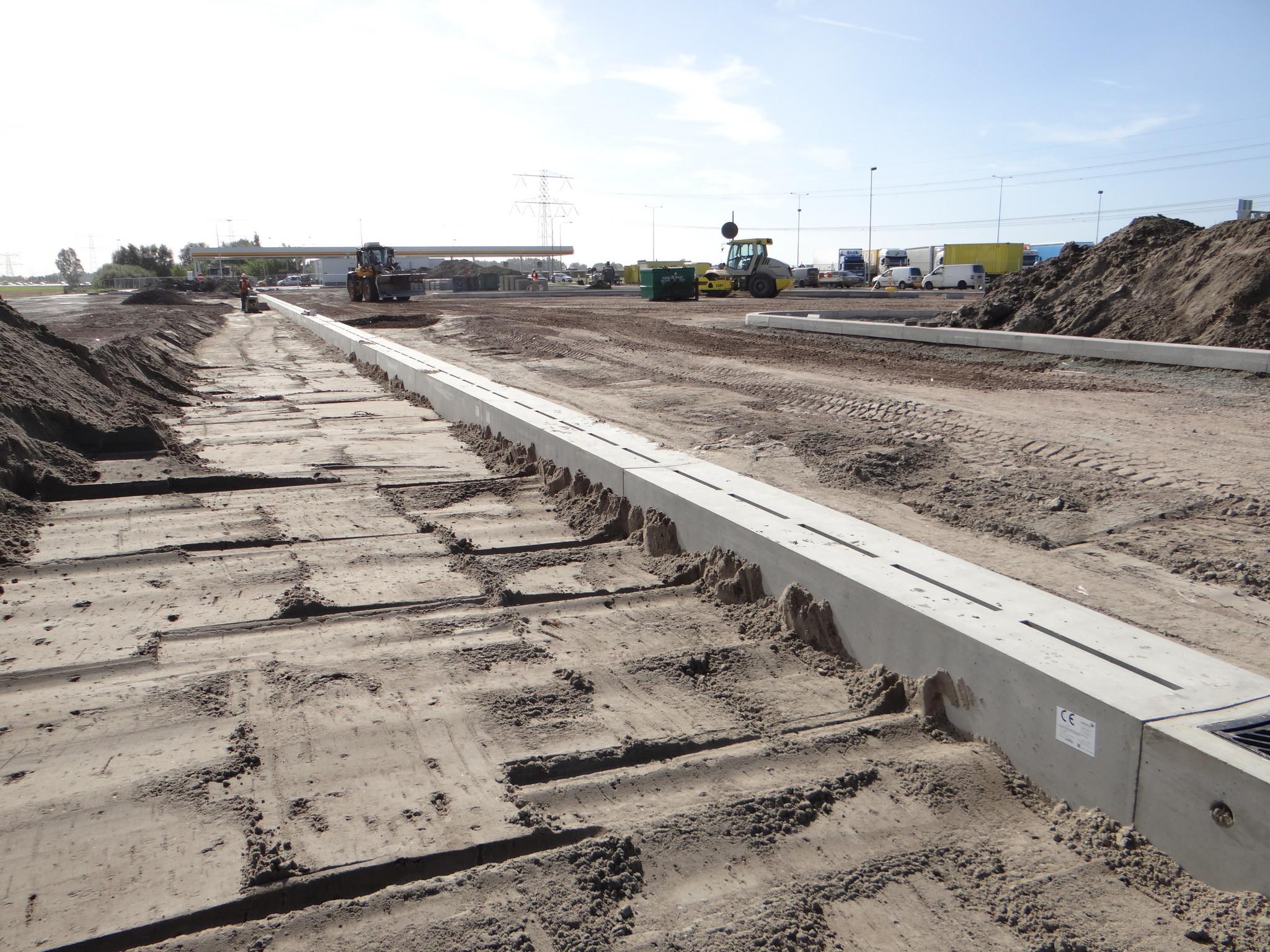 Shell-Breukelen-Verholen-Goot-Diederen-Drainage technology