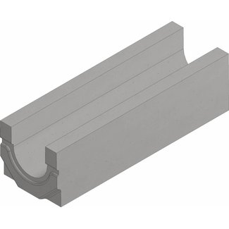 Hauraton Afvoergoot Faserfix Standard E 100 type 0105.  Lengte 0,5m, hoogte 140mm