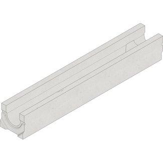 Hauraton Abflussrinne Faserfix Standard E 100 Typ 01L. LxBxH = 1000x162x140mm, Bodenablauf 110mm