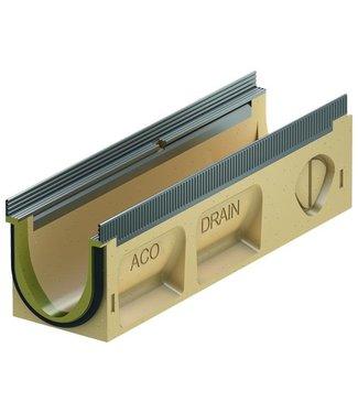 ACO Entwässerungsrinne Multiline Sealin V100S 0.1, lxbxh = 500x135x150mm, Kantenprofil aus verzinktem Stahl