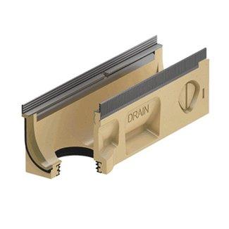 ACO Afvoergoot Multiline Sealin V100S 0.2, lxbxh=500x135x160mm, verzinktstaal randprofiel