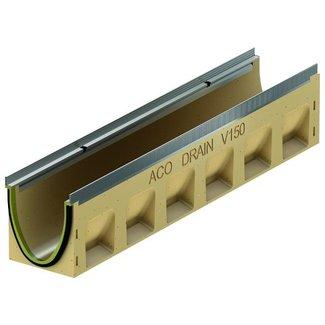 ACO Afvoergoot Multiline Sealin V150S 0.0, lxbxh=1000x185x210mm, verzinktstaal randprofiel