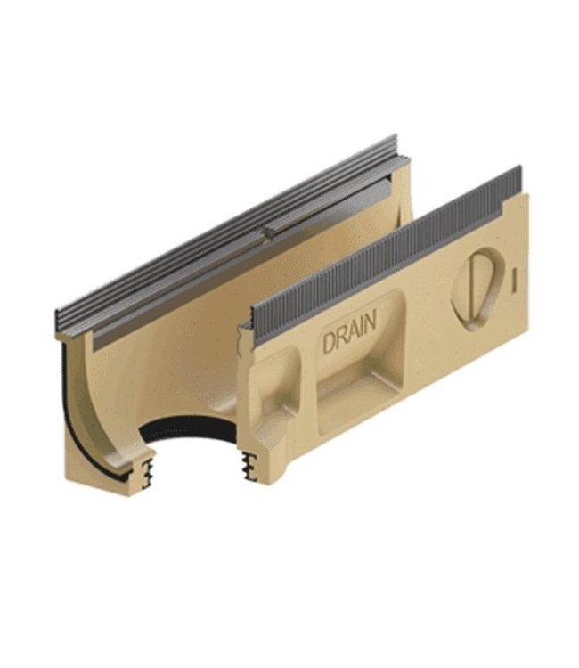 ACO Afvoergoot Multiline Sealin V150S 0.2, lxbxh=500x185x220mm, verzinktstaal randprofiel