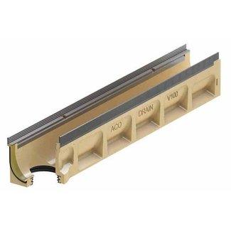 ACO Abflussrinne Multiline Sealin V150S 0.0.2, LxBxH = 1000x185x220mm, Randprofil aus verzinktem Stahl