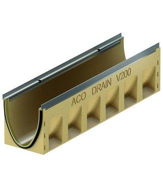 ACO Afvoergoot Multiline Sealin V200S 0.0, lxbxh=1000x235x265mm, verzinktstaal randprofiel
