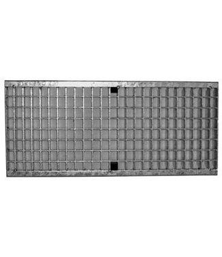 ACO Aco verzinktstaal maasrooster Multiline V200, l=1m, Klasse D, 400KN, maaswijdte 30x10mm