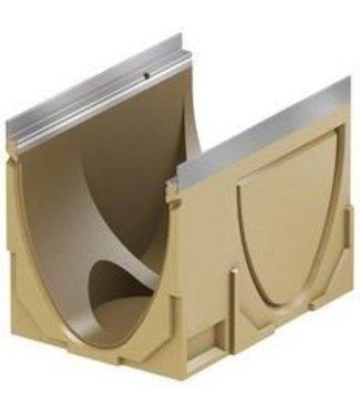 ACO Abflussrinne Multiline V300S Typ 0.1, l = 0,5 m. Randprofil aus verzinktem Stahl
