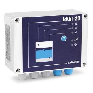 Oil + back-up alarm idOil-20 LO for oil separators, incl. 5m cable