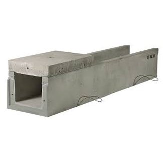 Stradal Betonnen kabelgoot SF 100.100. lxbxh=400x100x100cm inwendig