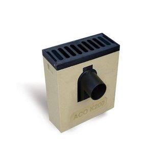 ACO Lijnkolk Multipoint K200KV. Spie 125mm voor, Retro rooster vlak, h=535mm