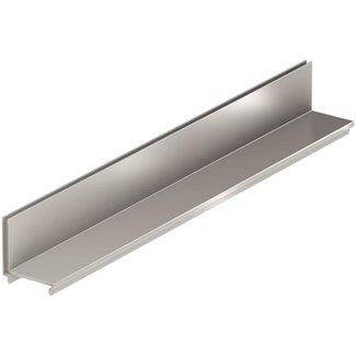 ACO Slot attachment Fineline, l = 1m. Galvanized steel, asymmetric, h = 85mm