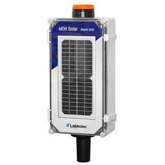 Oliealarm idOil Solar Oil 3G tbv olieafscheiders, incl. 5m kabel, alarmlamp en 3G modem