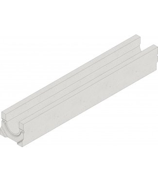 Drainage channel Faserfix Standard E 100 type 01. Length 1m, height 140mm