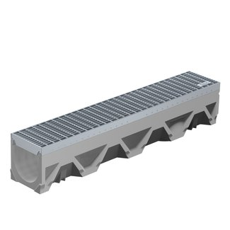 BG-Graspointner Lijngoot BG-FILCOTEN® Tec V150/0. L=1m. Klasse C, 250KN