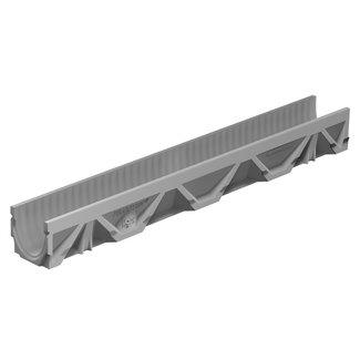 BG Graspointner Schlitzrinne BG-FILCOTEN® Light 100/5. L = 0,5 m. Klasse C, 250 kN. Abfluss vorformen