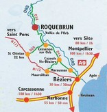 Cave de Roquebrun Col de l'Orb Blanc   1-vaks wijngeschenk