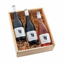 """Villa Blanche """"Top 3"""" 3-vaks wijngeschenk"""