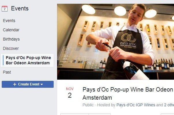 Pays d'Oc wijnbar geopend in Amsterdam