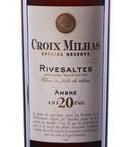 Vignerons Catalans Croix Milhas Spécial Réserve Rivesaltes 20 Ans d'Age