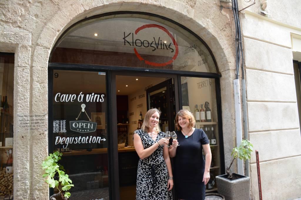 Kloos-Vins wijnwinkel in Béziers