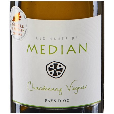 Domaine Preignes Le Vieux Les Hauts de Médian Chardonnay-Viognier 2017