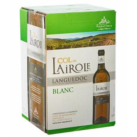 Cave de Roquebrun Col de Lairole Blanc 5 liter