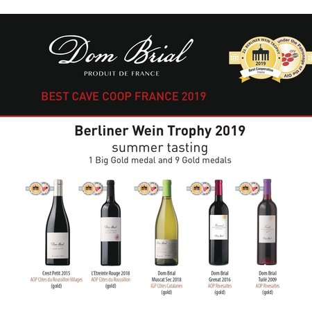Dom Brial Dom Brial Muscat Sec 2018