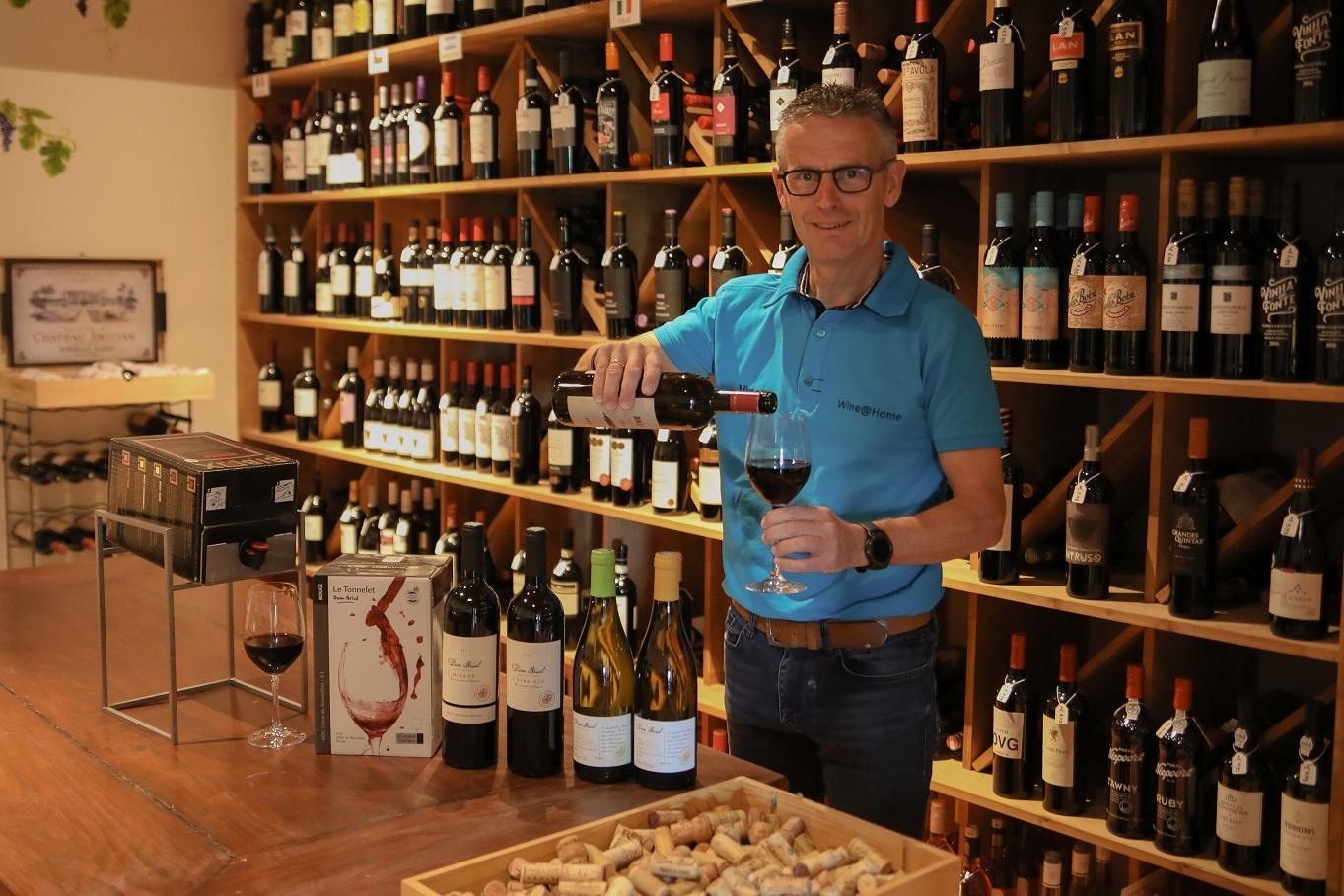 Nieuw portaal voor de twee wijnwebshops