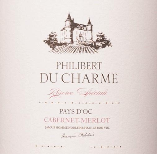 Philibert du Charme Merlot/Cabernet vervangt Comtesse Marion La Voyage Merlot/Cabernet