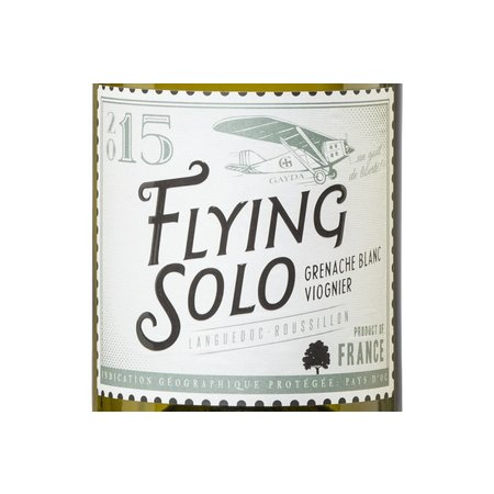 Domaine Gayda Gayda Flying Solo Blanc 2019