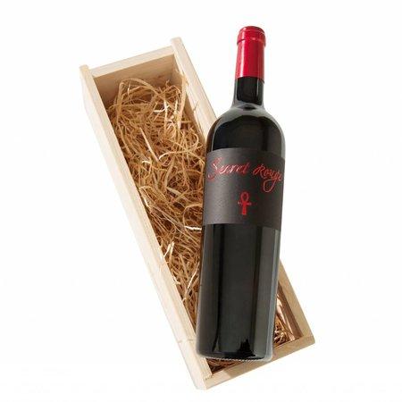Alma Cersius Secret Rouge 1-vaks wijngeschenk | Een mysterieus geheim