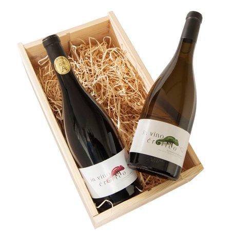 Alma Cersius Felin Noir Premium 2-vaks wijngeschenk