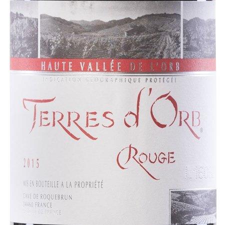 Cave de Roquebrun Terres d'Orb Rouge 2016